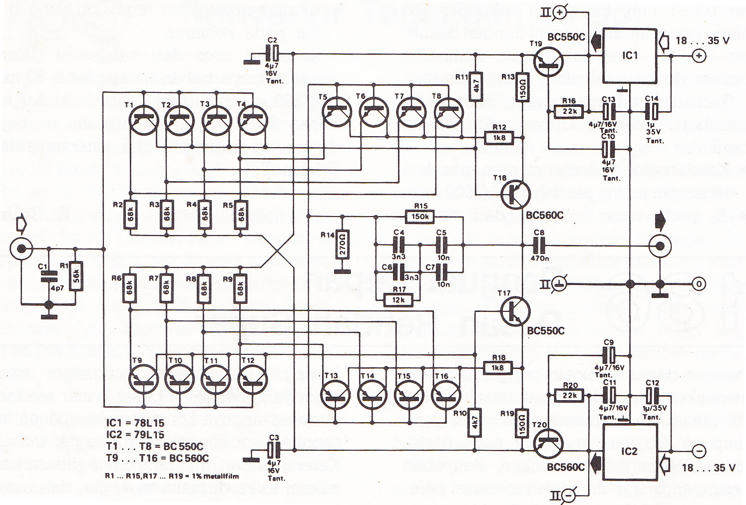 Phono Pre  Schematic on tone control preamp schematic